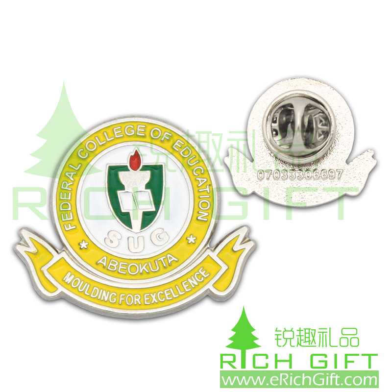 Quality School Badge, Custom Made School Badge, China School Badge