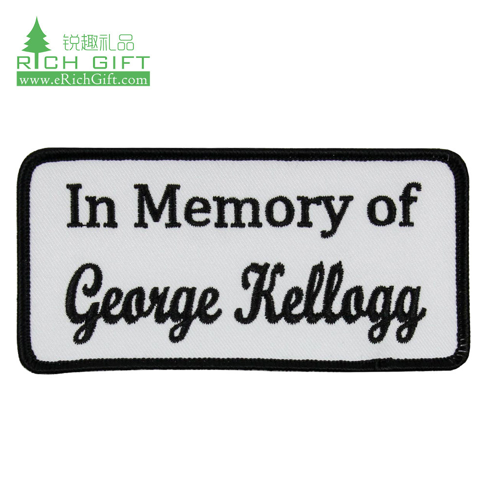 Custom Made Personalized Cheap Embroidery Patches   China