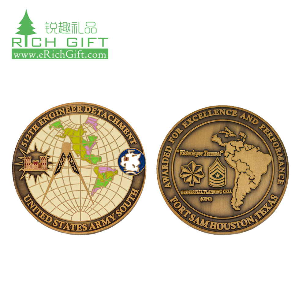 China Metal Coin Maker-Custom Coins, Challenge Coins